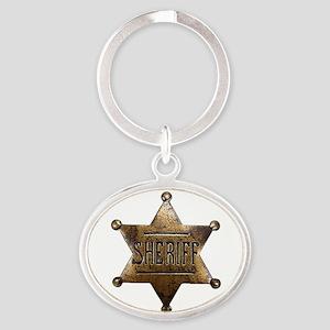 Sheriff Badge Keychains