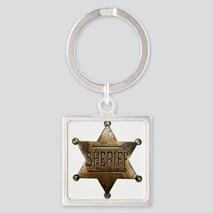 Sheriff Badge Keychains