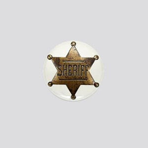 Sheriff Badge Mini Button