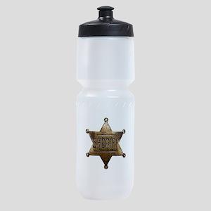 Sheriff Badge Sports Bottle