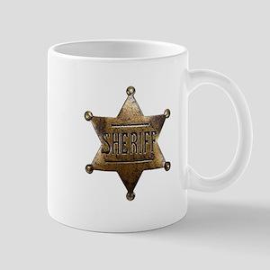 Sheriff Badge Mugs