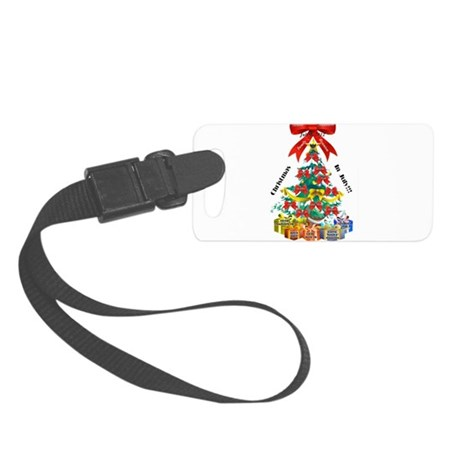 Christmas in July Luggage Tag
