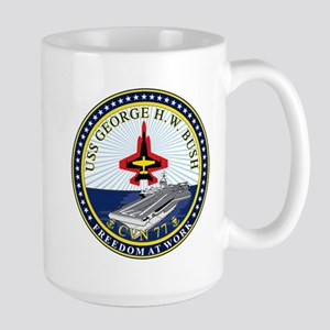 USS George H. W. Bush CVN-77 Mugs