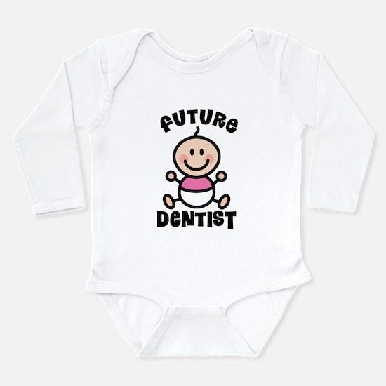 Future Dentist Long Sleeve Infant Bodysuit