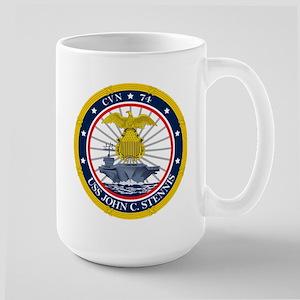 USS John C. Stennis CVN-74 Mugs
