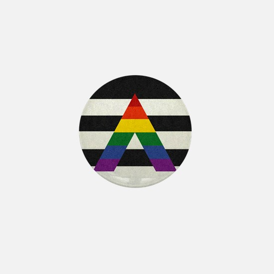 Ally Flag Mini Button