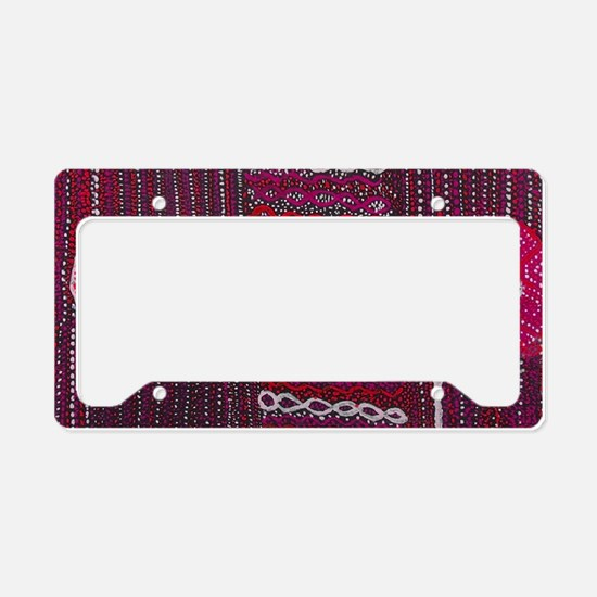 Serpant Land License Plate Holder