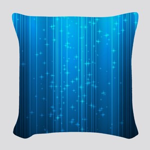 Magical Stars Woven Throw Pillow