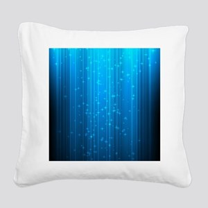 Magical Stars Square Canvas Pillow