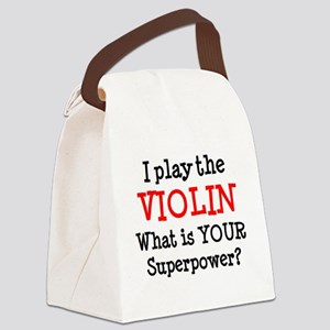 violin player Canvas Lunch Bag