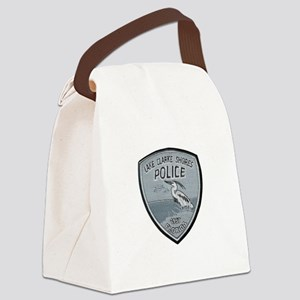 Lake Clarke Shores Police Canvas Lunch Bag