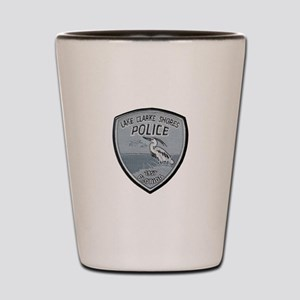 Lake Clarke Shores Police Shot Glass