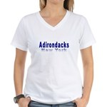 Adirondacks New Women's V-Neck T-Shirt