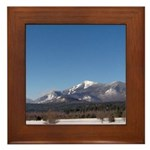 Whiteface Mountain Framed Tile