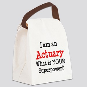 actuary Canvas Lunch Bag