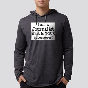 journalist Mens Hooded Shirt