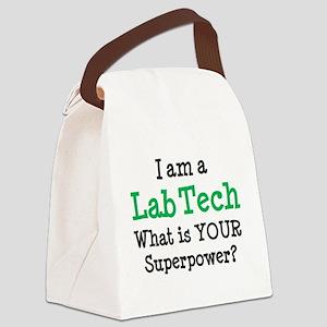 lab tech Canvas Lunch Bag