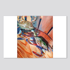 Maryland Blue Crabs Postcards (Package of 8)