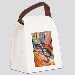 Maryland Blue Crabs Canvas Lunch Bag