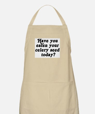 celery seed today BBQ Apron