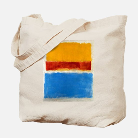 ROTHKO BLUE YELLOW RED Tote Bag