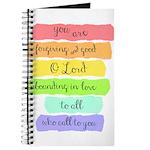 Psalm 86:5 Rainbow Stripe Verse Journal