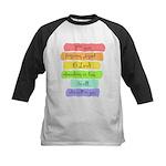 Psalm 86:5 Rainbow Stripe Verse Baseball Jersey