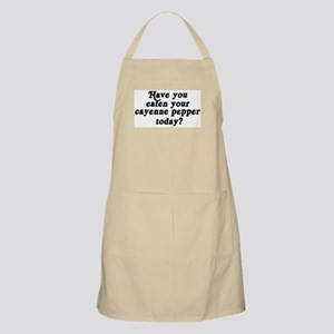 cayenne pepper today BBQ Apron