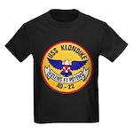 USS KLONDIKE Kids Dark T-Shirt