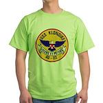 USS KLONDIKE Green T-Shirt