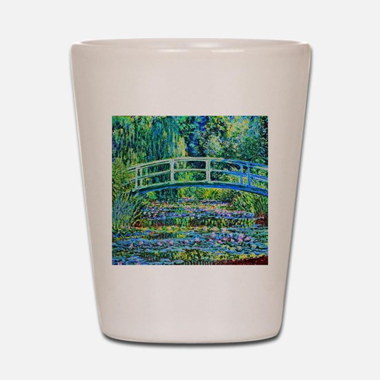 Monet - Water Lily Pond Shot Glass