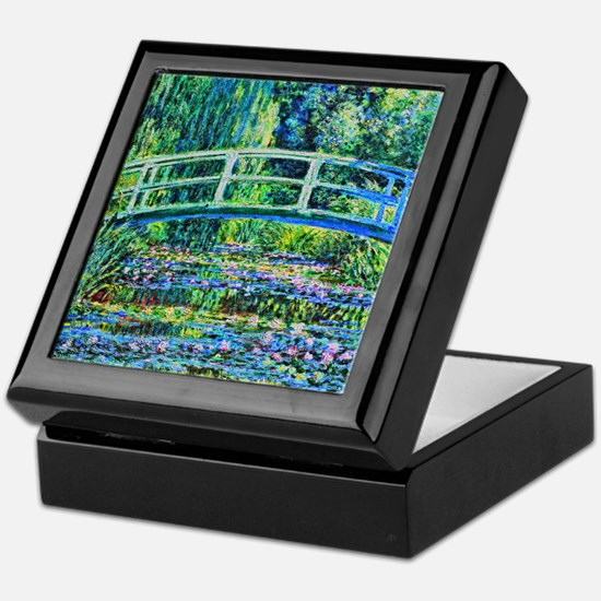 Monet - Water Lily Pond Keepsake Box