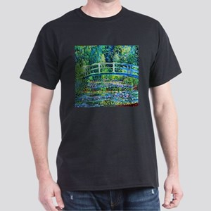 Monet - Water Lily Pond Dark T-Shirt