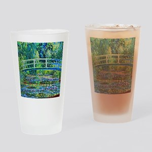 Monet - Water Lily Pond Drinking Glass