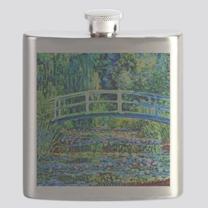 Monet - Water Lily Pond Flask