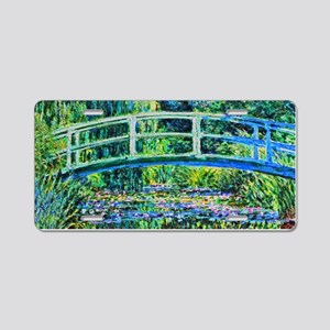 Monet - Water Lily Pond Aluminum License Plate