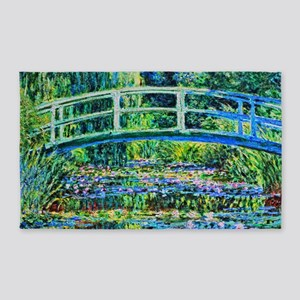 Monet - Water Lily Pond 3'x5' Area Rug