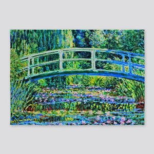 Monet - Water Lily Pond 5'x7'Area Rug