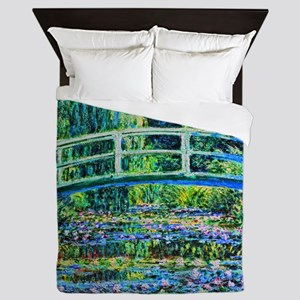 Monet - Water Lily Pond Queen Duvet