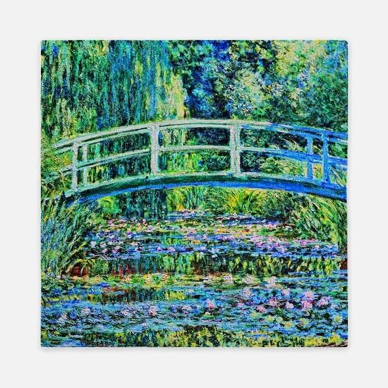 Monet - Water Lily Pond Queen Duvet