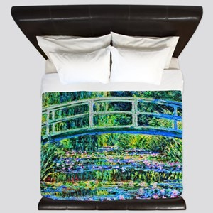 Monet - Water Lily Pond King Duvet