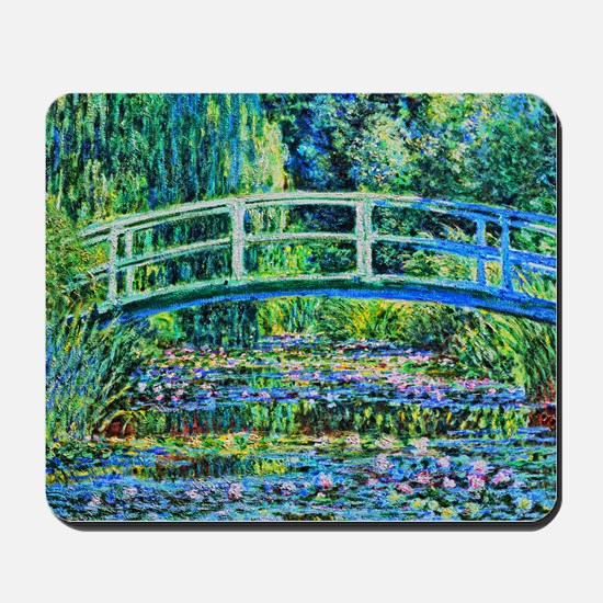 Monet - Water Lily Pond Mousepad
