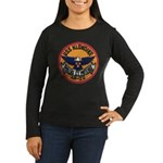 USS KLONDIKE Women's Long Sleeve Dark T-Shirt