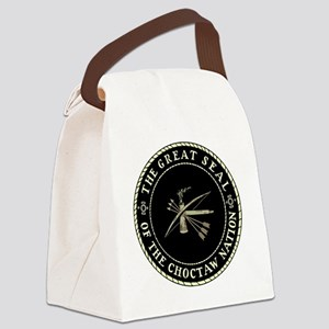 CHOCTAW SEAL Canvas Lunch Bag