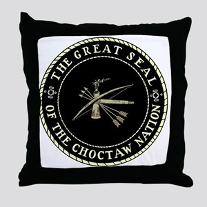 CHOCTAW SEAL Throw Pillow
