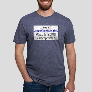 anesthesiologist Mens Tri-blend T-Shirt