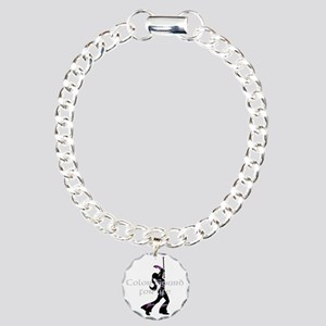 Color Guard for life Charm Bracelet, One Charm