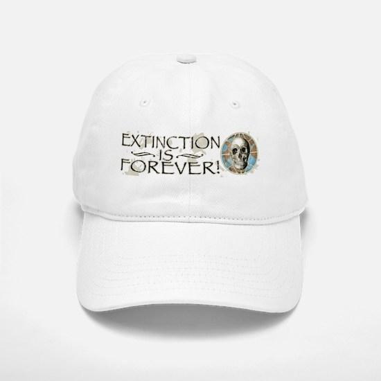 Extinction is Forever Baseball Baseball Cap
