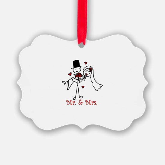 Mr And Mrs Ornament