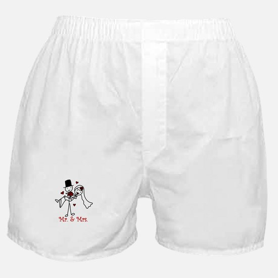 Mr And Mrs Boxer Shorts